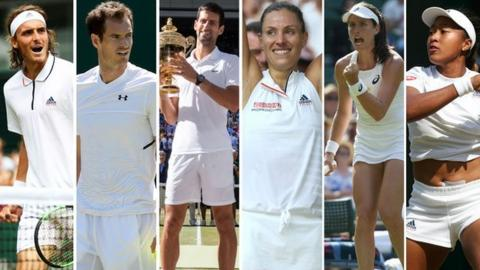 Tsistipas, Murray, Djokovic, Kerber, Konta, Osaka