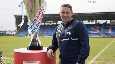 Paul Hurst has lost 23 of his 87 games since taking charge of Shrewsbury Town in October 2016