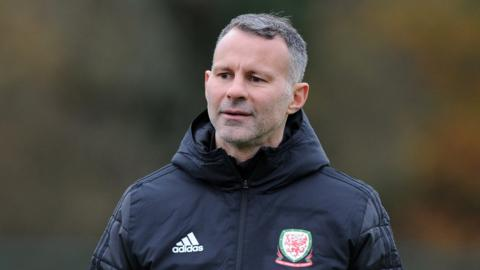 Wales manager Ryan Giggs