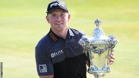 Golfer Matt Wallace