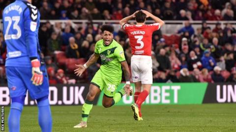 Middlesbrough 0-1 Norwich City: Onel Hernandez scores winner