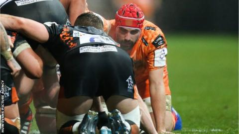 Dragons were boosted by the return from injury of Wales forward Cory Hill, playing for the first time since February