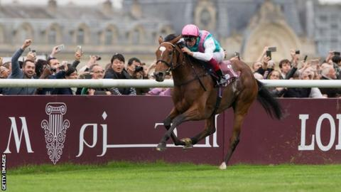 Enable wins the 2017 Arc