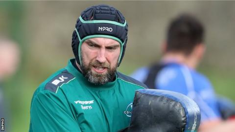 John Muldoon captained Connacht to Pro12 success in 2016