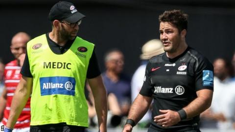 Saracens captain Barritt fit to face Exeter in Premiership final