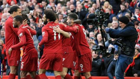Liverpool matches are shown by beIN sports which has Premier League television rights