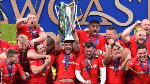 Saracens win the European Champions Cup