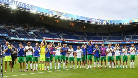 Northern Ireland will be playing for the first time since their Euro 2016 defeat by Wales in Paris