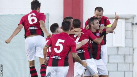 Lincoln Red Imps of Gibraltar stunned Celtic with a home leg victory in 2016