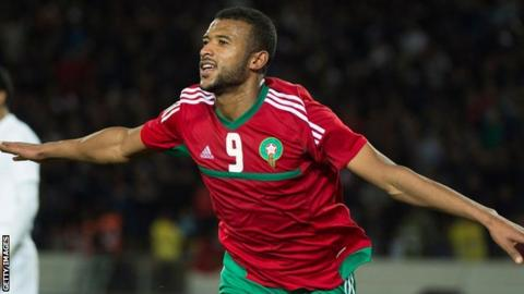 Maroccan footballer Ayoub El Kaabi impressed during the CHAN tournament