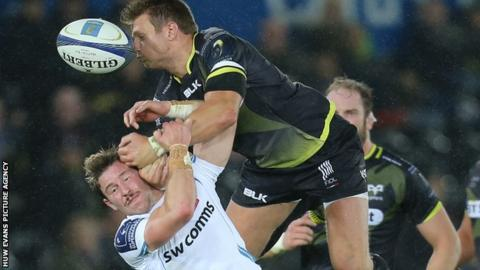 Ospreys began their European campaign with a home win over Exeter