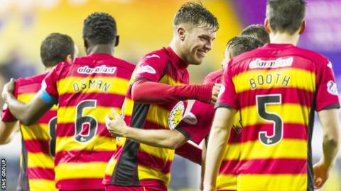 Partick Thistle were unbeaten in November