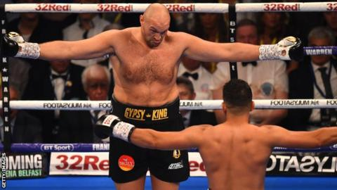 Tyson Fury outclasses Seferi