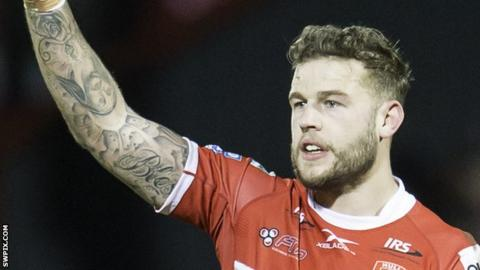 Thomas Minns scored 34 tries in 49 appearances during his first spell with Hull Kingston Rovers