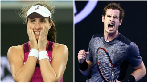 Konta and Murray