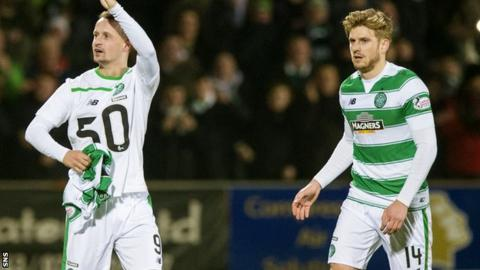 Leigh Griffiths (left) and Stuart Armstrong