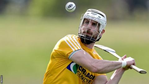 Neil McManus has been Antrim's top forward for almost a decade