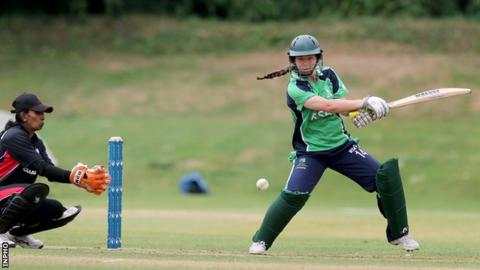 Laura Delany made her senior Ireland debut against New Zealand in 2010
