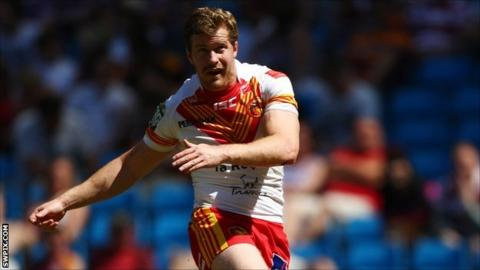 Catalans Dragons half-back Scott Dureau
