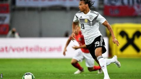 Leroy Sane says he will 'bounce back' after Germany omission