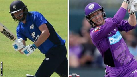 James Vince and George Bailey