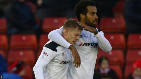 Matej Vydra and Tom Huddlestone