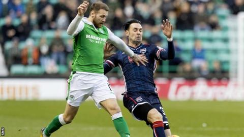 Martin Boyle and Chris Eagles