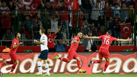 France Come Unstuck Away To Turkey