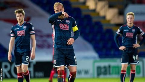 Ross County have gone five games without a win since beating Partick Thistle on 3 April