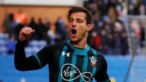 Cedric scores for Southampton