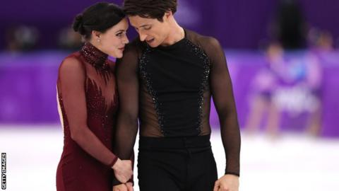 Winter Olympics: Golden comeback for Canadian skaters Moir and Virtue