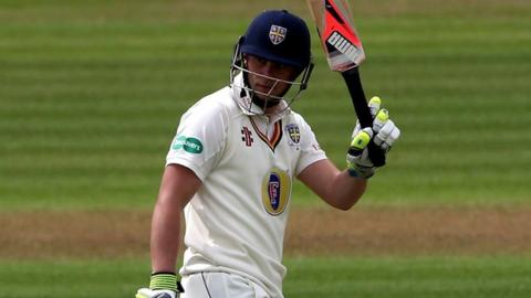 Durham centurion Scott Borthwick had made just 121 runs in three matches this season prior to this game