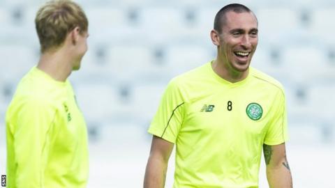 Celtic captain Scott Brown