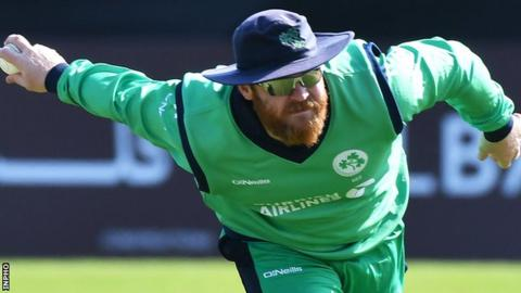 Paul Stirling led Ireland to victory against Oman in his first competitive game as the new T20 captain last week