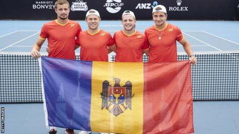 Moldova receive apology after wrong anthem played in Australia — ATP Cup