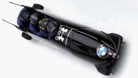 GB fourman bobsleigh