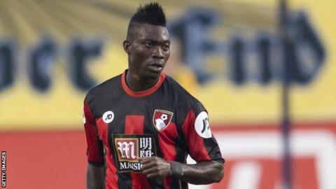 Ghana and Bournemouth's Christian Atsu