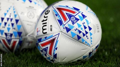 EFL match ball