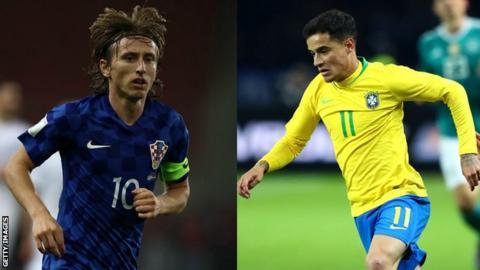 Croatia v Brazil Fixture Details Confirmed