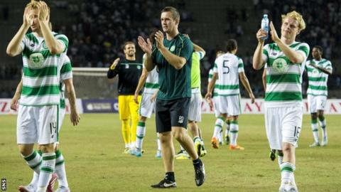 Celtic drew 0-0 with Qarabag, winning 1-0 on aggregate