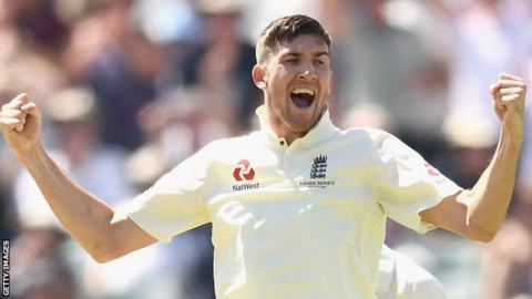 England seamer Craig Overton doubtful for fourth Ashes Test