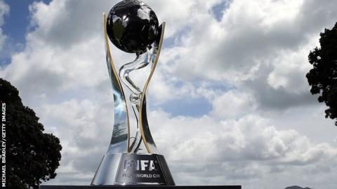 Under-20 World Cup trophy