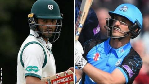 Worcestershire sign Hamish Rutherford in place of Callum Ferguson
