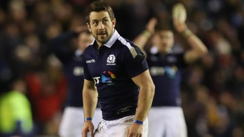 Greig Laidlaw returns to the Scotland squad