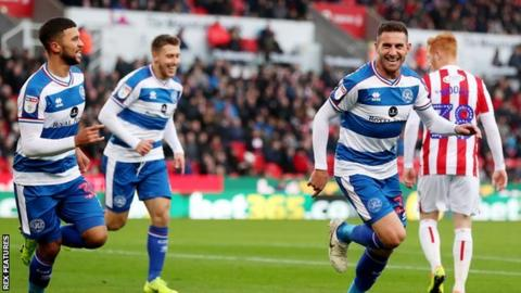 Right-back Angel Rangel had never previously scored for QPR in 14 games - but ended the afternoon with his first career double
