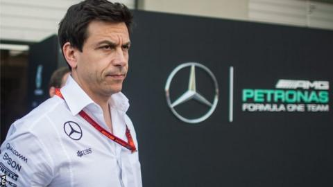 Mercedes AMG F1 Director of Motorsport Toto Wolff