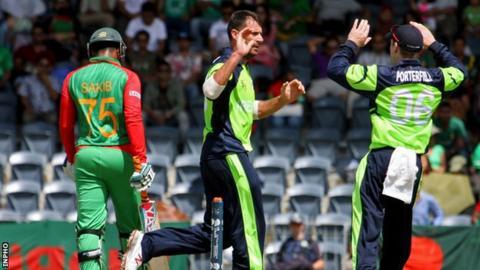 Ireland will face Bangladesh in the World Twenty20 in India