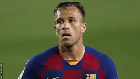 Arthur joined Barcelona from Gremio in 2018