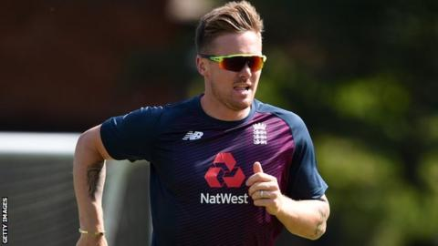 Jason Roy took part in training with England on Saturday