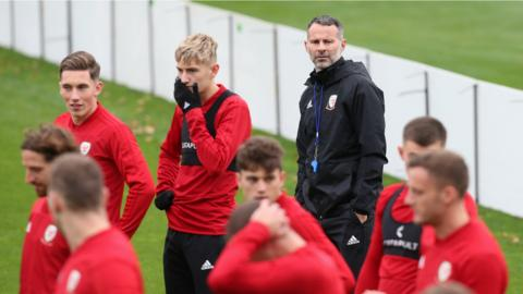 Wales in training